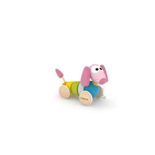 J'adore Puppy Pull Dog Pink