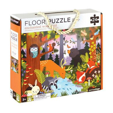 Petit Collage Floor Puzzle Enchanted Woodland