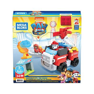 Mega Bloks Paw Patrol Marshall's City Fire Rescue