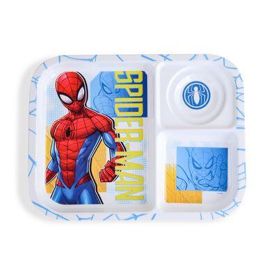 Spiderman Melamine Section Plate