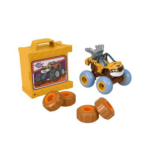 Nickelodeon Blaze Tune Up Tires Vehicle - Assorted