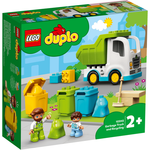 LEGO Duplo Town Garbage Truck And Recycling 10945