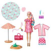 Barbie Color Reveal Summer Foam - Assorted