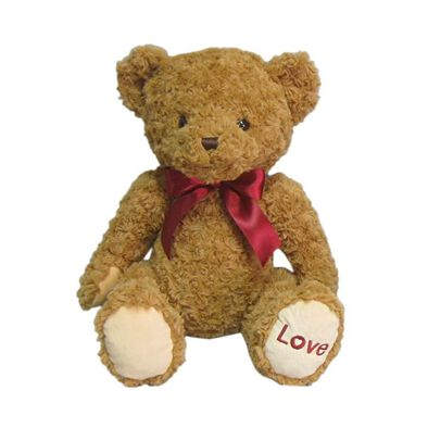 Animal Alley 15 Inch Bear With Ribbon - Assorted