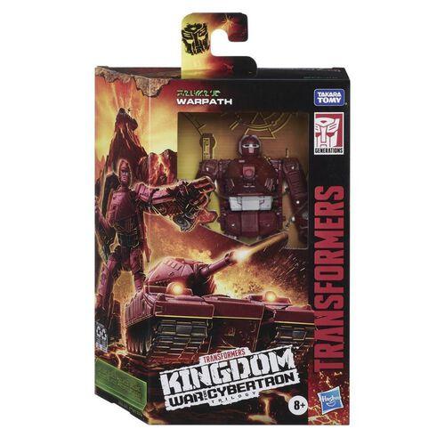 Transformers Generations War For Cybertron Kingdom Deluxe Warpath