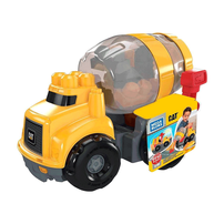 Mega Bloks Caterpillar Cement Mixer