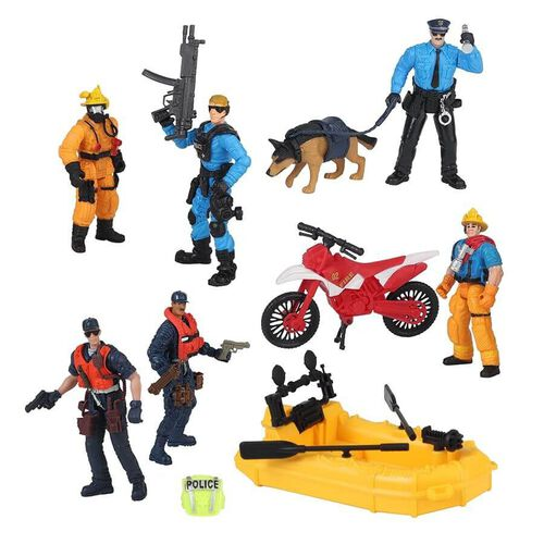 Rescue Force Rescue Figure Playset