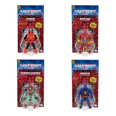Masters of the Universe Origins Dash K Figure Set of 4