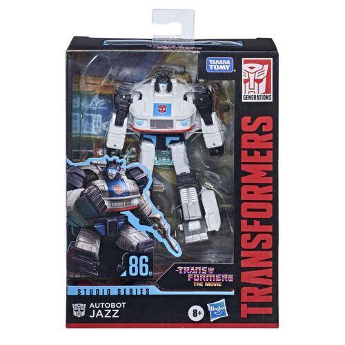 Transformers Studio Series Deluxe 86 Autobot Jazz Action Figure