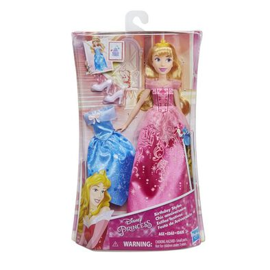 Disney Princess Doll With Extra Fashion - Assorted