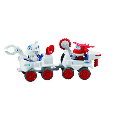 Super Wings Astra and Jett's Moon Rover