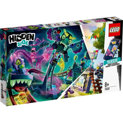 LEGO Hidden Side Haunted Fairground 70432