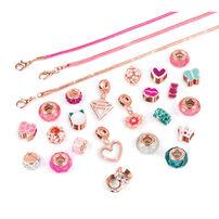 Make It Real Halo Charms Bracelets Think Pink