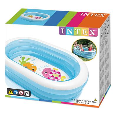Intex Oval Whale Fun Pool
