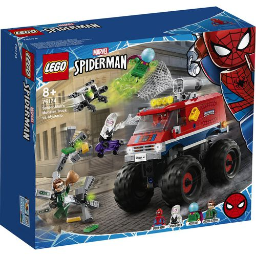 LEGO Marvel Spider-Man Spider-Man's Monster Truck vs. Mysterio 76174