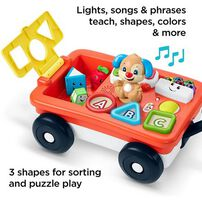 Fisher-Price Laugh & Learn Pull and Play Learning Wagon