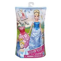 Disney Princess Summer Day Styles Cinderella Doll With 2 Outfits