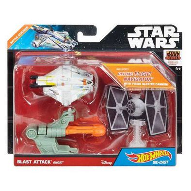 Hot Wheels Star Wars Blst Attack Starship - Assorted