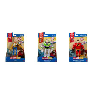Pixar Interactables Talking Action Figure - Assorted