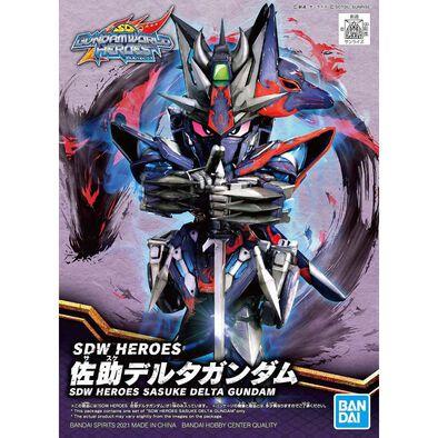 Bandai Sdw Heroes Sasuke Delta Gundam