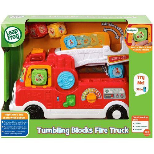 LeapFrog Tumbling Blocks Fire Truck