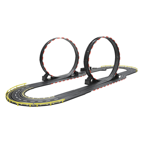 Speed City Slot Racer-Double Loop