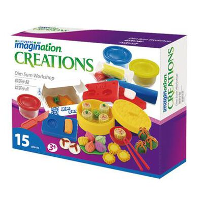 Universe Of Imagination - Dim Sum Workshop Dough Set