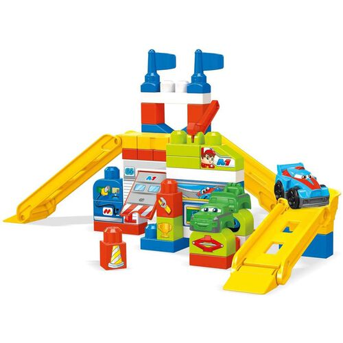 Mega Bloks Race Car Garage