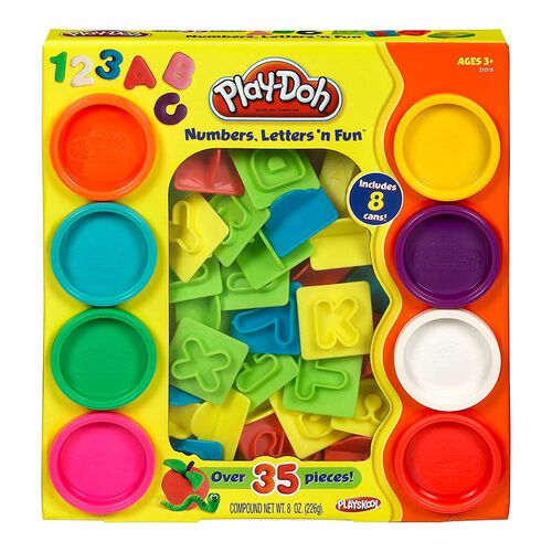 Play-Doh Numbers And Letters N Fun