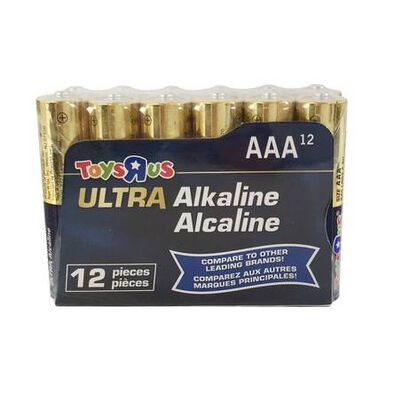 Ultra Alkaline AAA 12 Pieces