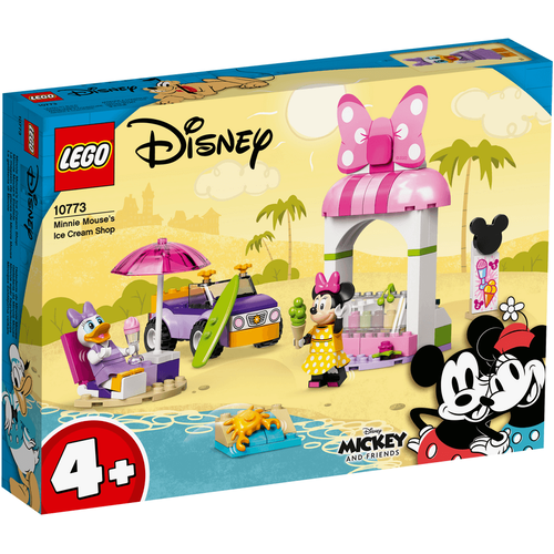LEGO Mickey And Friends Minnie Mouse's Ice Cream Shop 10773