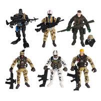 Rescue Force Soldier Figure Set