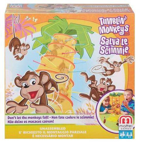 Mattel Games Tumblin' Monkeys