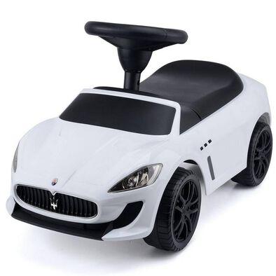 Maserati Grancabrio MC Ride On Car (White)