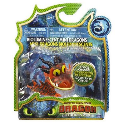 How to Train Your Dragon 3 Bioluminescent Mini Dragons - Assorted
