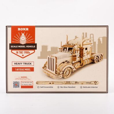 Robotime DIY Heavy Truck