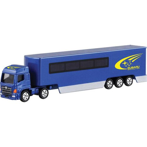 Tomica Subaru World Rally Transporter