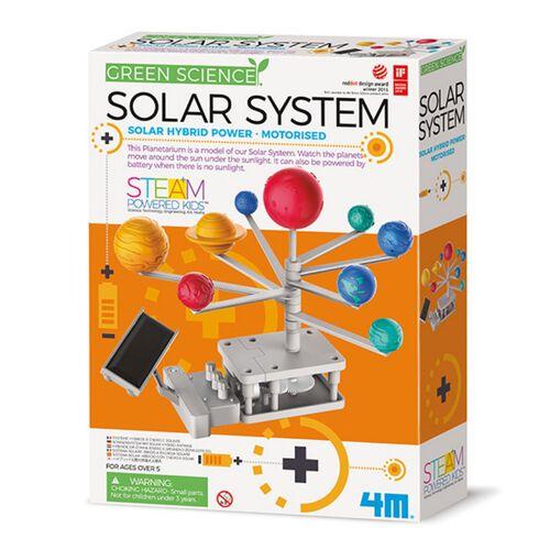 4M Solar Hybrid Engineering Motorised Solar System