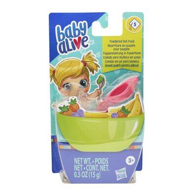 Baby Alive Powdered Doll Food Assorted