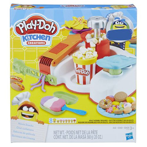 Play-Doh Movie Snacks