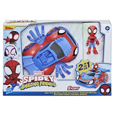 Playskool Spidey & Amazing Friends Figures with Convertible Vehicles - Assorted
