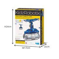 4M Kidz Robotix Tin Can Cable Car