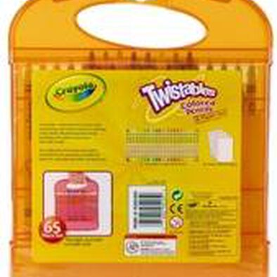 Crayola Twistable Colored Pencil Set