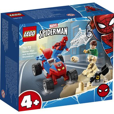 LEGO Marvel Spider-Man Spider-Man and Sandman Showdown 76172