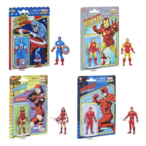 Marvel Legends 3.75-inch-scale Classic Retro Collection figures - Assorted