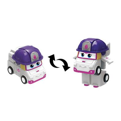 Super Wings Transform A Bots Zoey