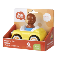 Top Tots Push 'n Go Racer - Monkey