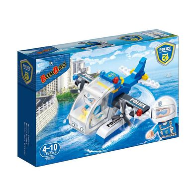 Banbao Police Police Seaplane 7009