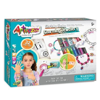 Artmazin Shrinky Funky Charming Jewellery