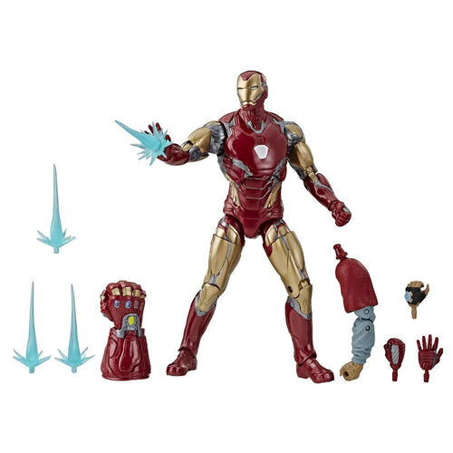 Marvel Legends Series Avengers: Endgame 6-inch Collectible Action Figure Iron Man Mark LXXXV Avengers Collection